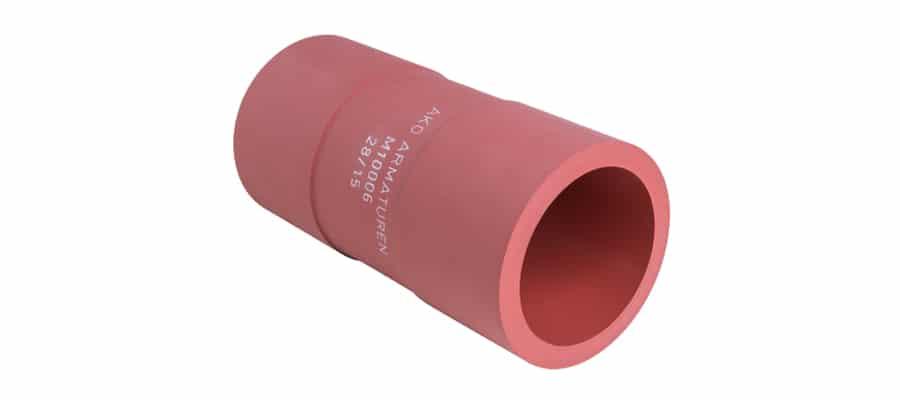 silicon pinch valve sleeve