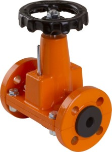DN20 hand operated pinch valve
