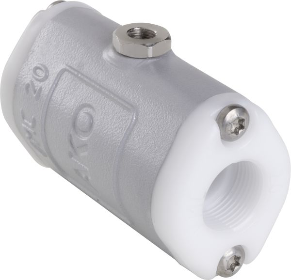 VMC soft seated Valve with POM BSP Threaded Ends