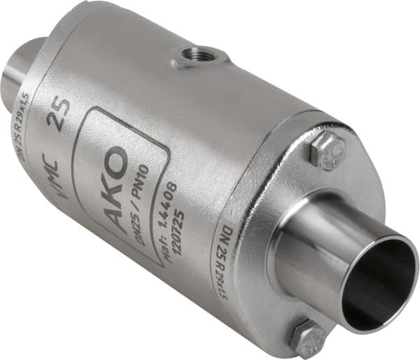 VMC shutoff Valve with weld on ends