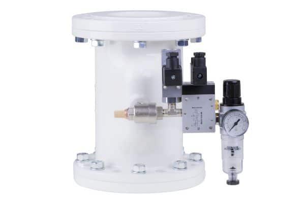 mounted pinch valve accessories
