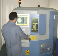 Xray equipment for inspecting squeeze valve joints