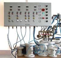 pneumatic pinch valves test laboratory