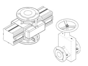 OV valve drawing