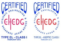 EHEDG Certified Pinch Valves