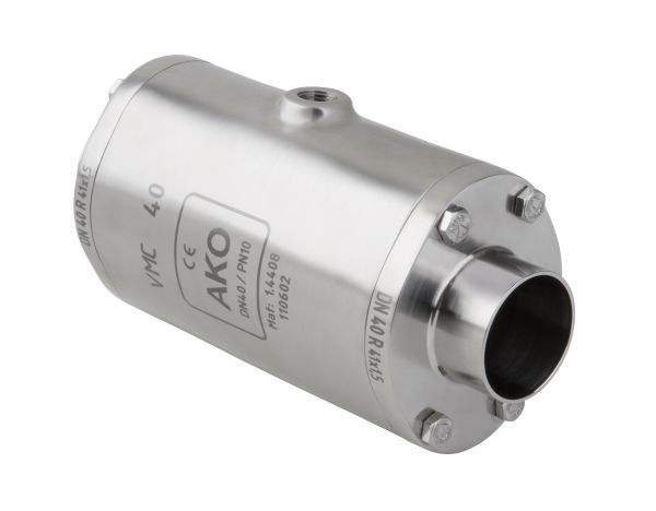 VMCE shutoff Valve with weld-on ends