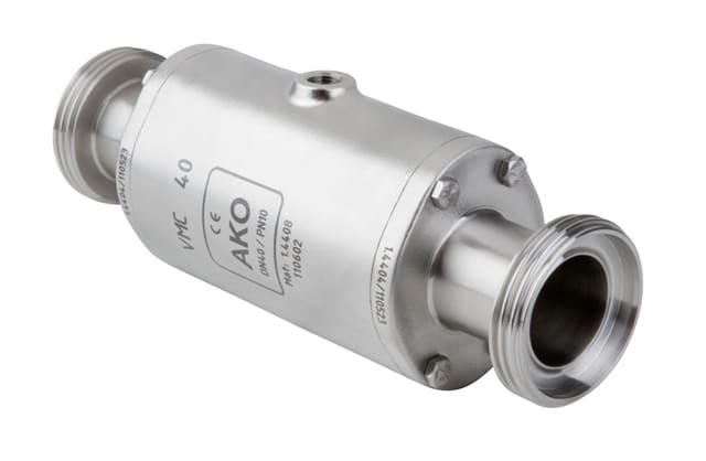 VMCE Pinch Valve with RJT connection