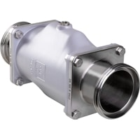 DN100-Pinch Valve with RJT Connection from AKO Armaturen