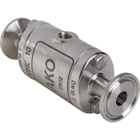 DN10-Pinch Valve with Tri-Clamp acc. to DIN 32676 row A