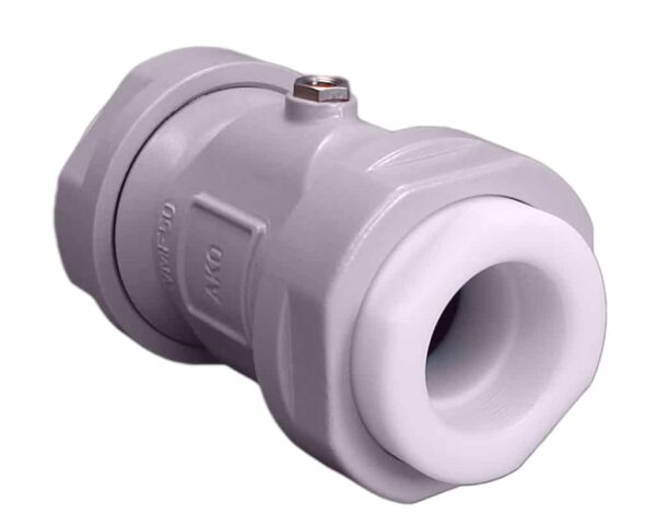 DN 32 - Air Pinch Valve / Pneumatic pinch valve Type VMF of AKO