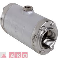 valve for welding flux
