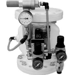 pinch valve vacuum