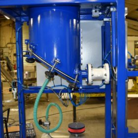 sacking filling squeeze valve