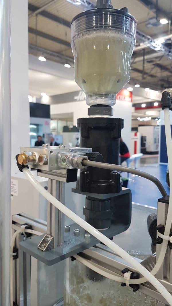 pinch valve hydrocyclone