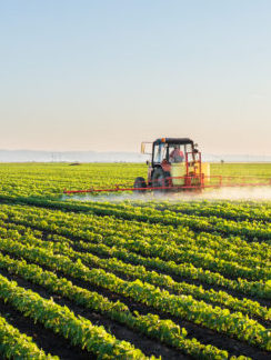 precision farming with valves