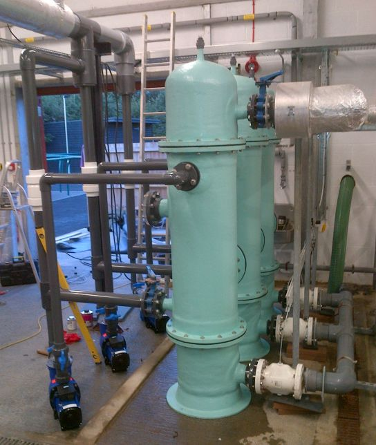 pinch valves in the water industry