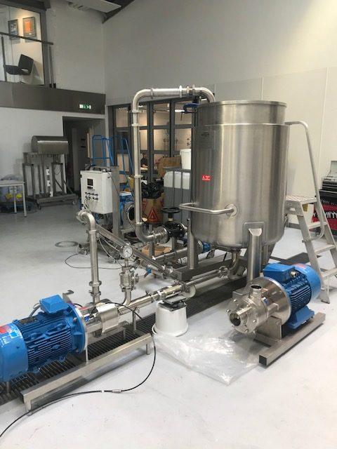 shear mixing machine