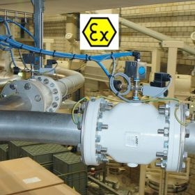 Control Pinch Valves for EX Zones