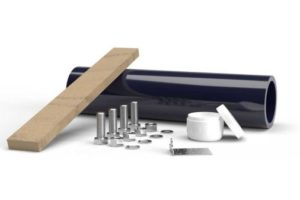 pinch valve mounting kit